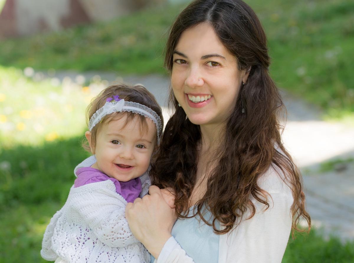 Astoria Park mother daughter