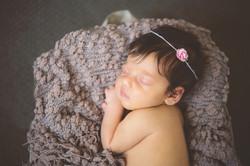 newborn girl pinks