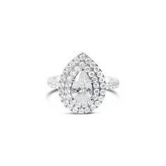 Diamond Double Halo Ring