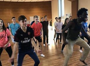 Atelier de danses