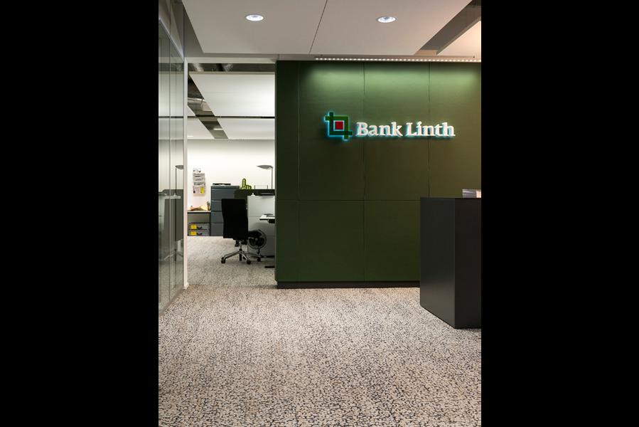 Bank Linth Provisorium Uznach