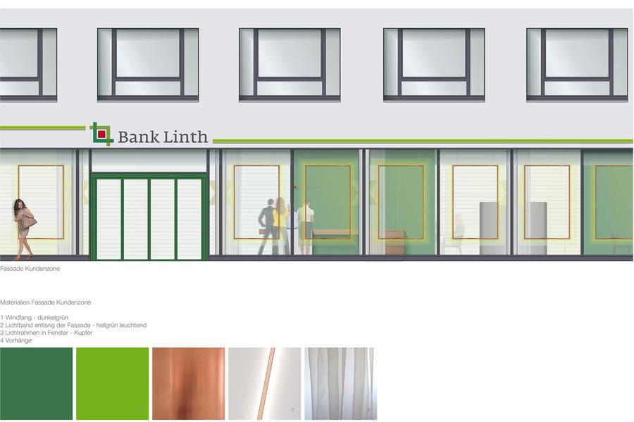 Projektwettbewerb Bank Linth Sargans