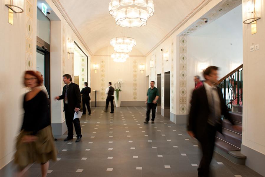 Lobby Hotel Glockenhof