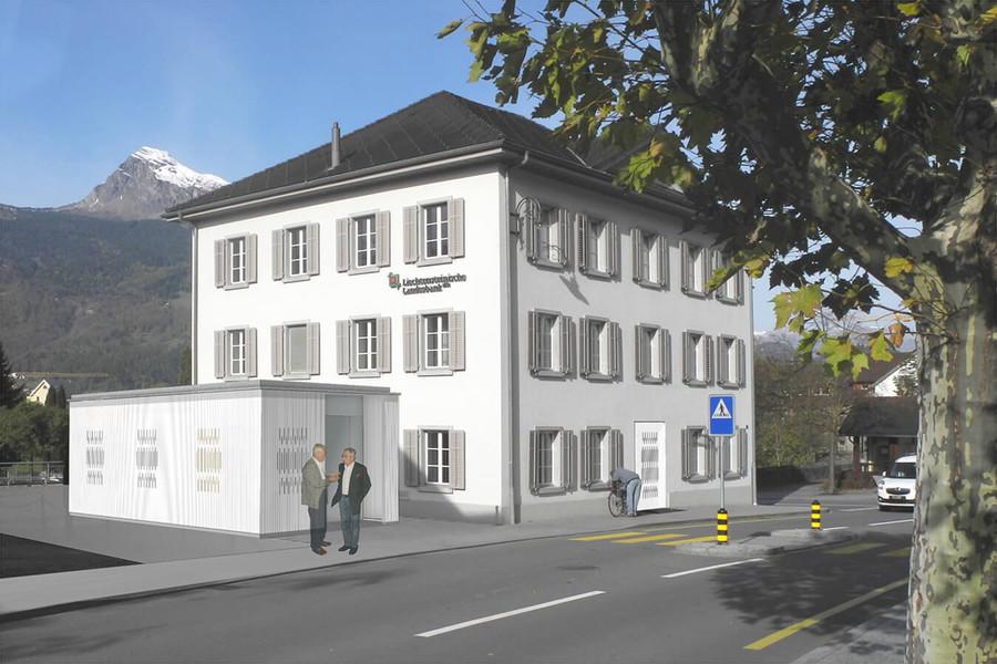 Projektwettbewerb Geschäftsstellenkonzept LLB Balzers