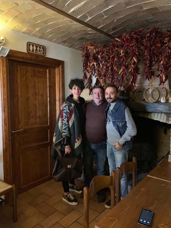 Giacomino con i founders di Electric Trips