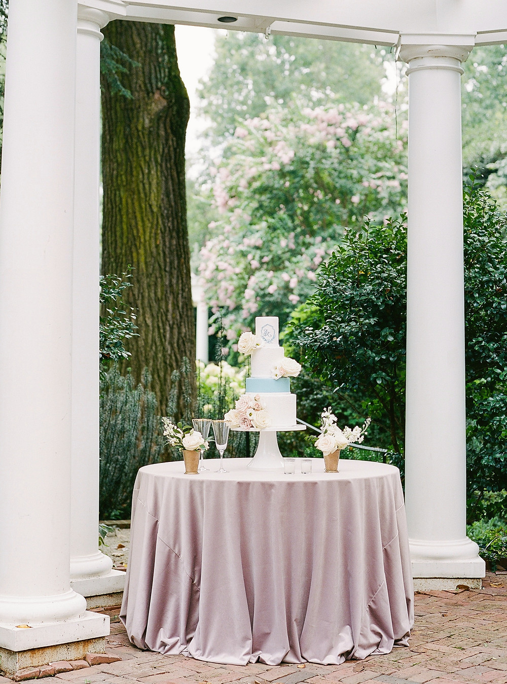 SoHo Event Design wedding planner Duke Mansion wedding cake