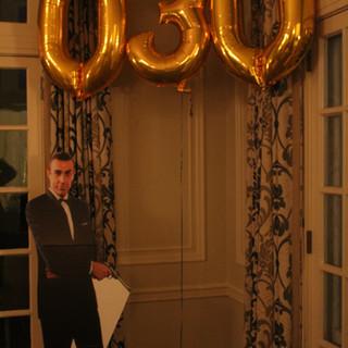 James Bond Themed 30th Birthday Celebration