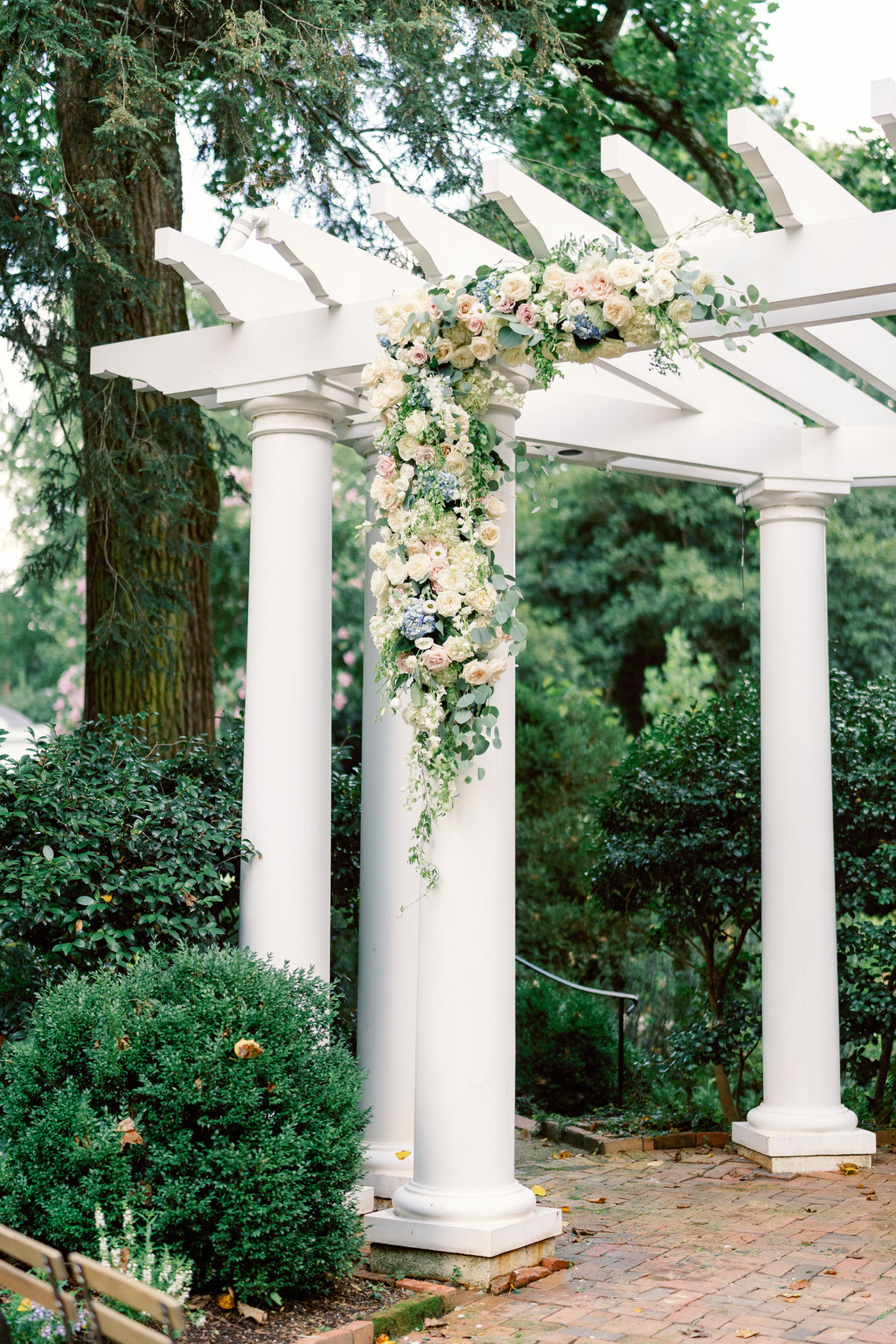 SoHo Event Design wedding planner Duke Mansion wedding ceremony