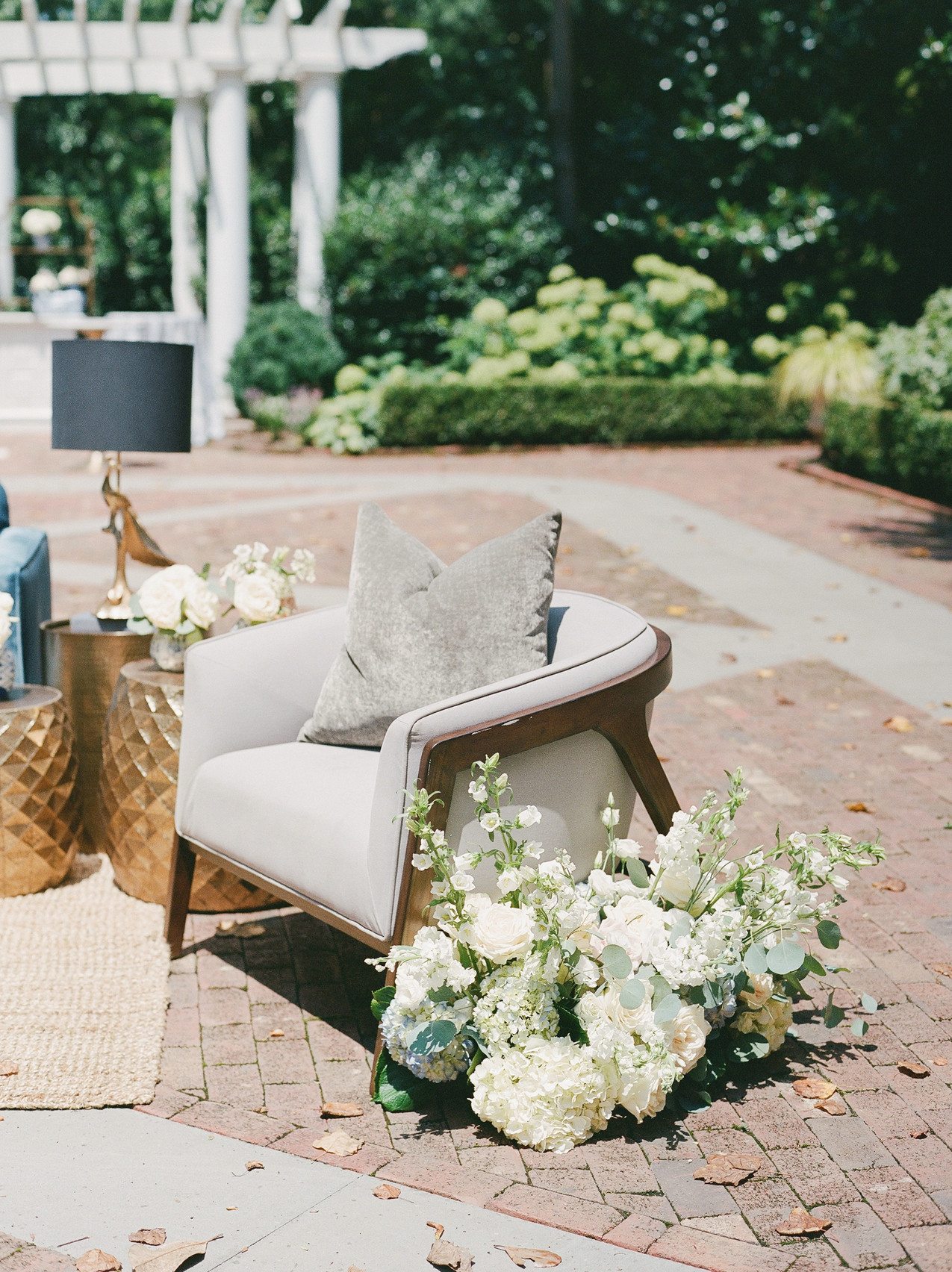 SoHo Event Design wedding planner Duke Mansion wedding lounge