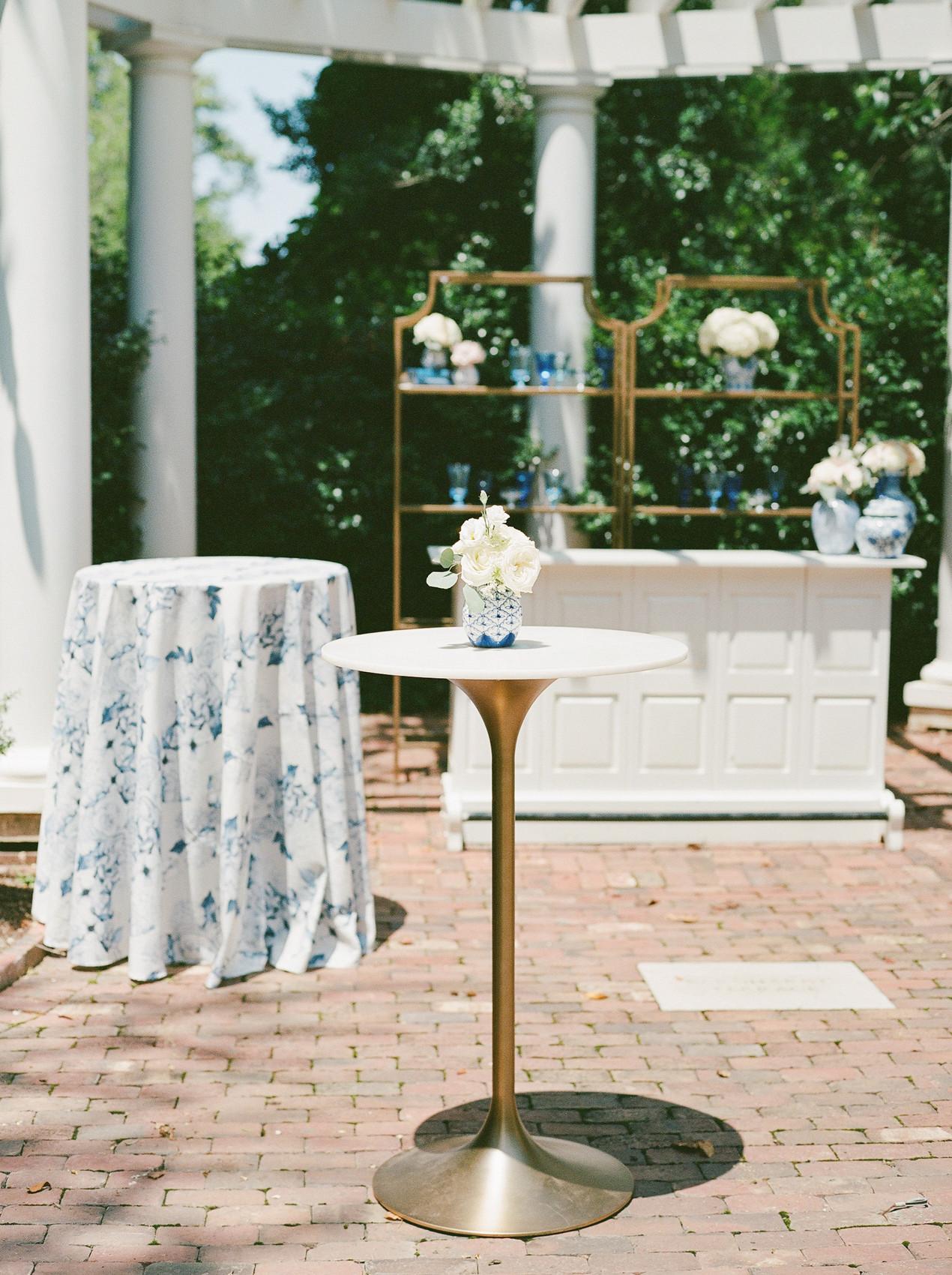 SoHo Event Design wedding planner Duke Mansion wedding bar