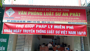 Hoạt động của Đoàn luật sư tỉnh Hà Tĩnh kỷ niệm 76 năm ngày Truyền thống Luật sư VN