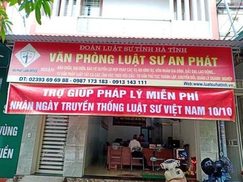 Đoàn luật sư tỉnh Hà Tĩnh triển khai các hoạt động và tổ chức kỷ niệm 74 năm ngày Truyền thống