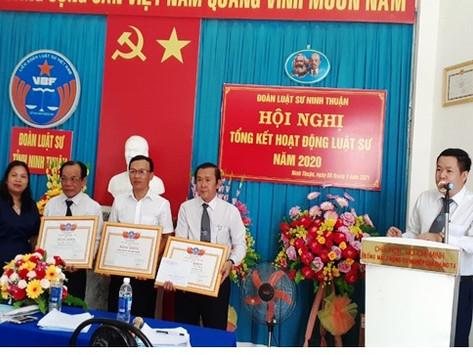 Đoàn Luật sư tỉnh Ninh Thuận tổ Hội nghị tổng kết hoạt động luật sư năm 2020 và triển khai phương