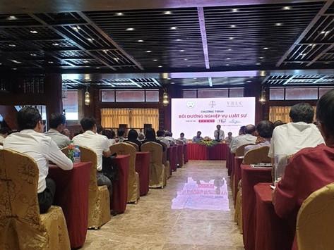 Đoàn Luật sư tỉnh Hà Nam tổ chức bồi dưỡng chuyên môn nghiệp vụ luật sư