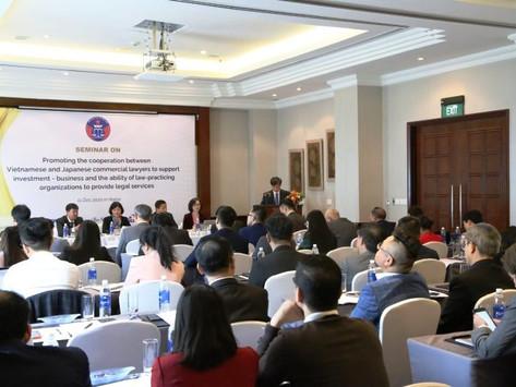 """Hội thảo """"Thúc đẩy hoạt động hợp tác giữa Luật sư thương mại Việt Nam và Nhật Bản"""""""