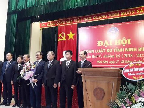 Đoàn luật sư tỉnh Ninh Bình tổ chức Đại hội nhiệm kỳ V ( 2018 -2023)