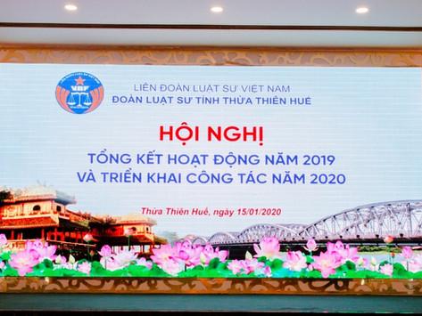 Tin về hoạt động của Đoàn Luật sư tỉnh Thừa Thiên Huế