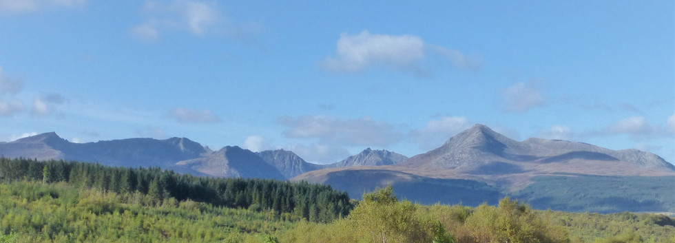 View of Goatfell