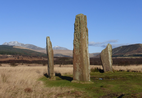 Machrie Moor Stones Isle of Arran
