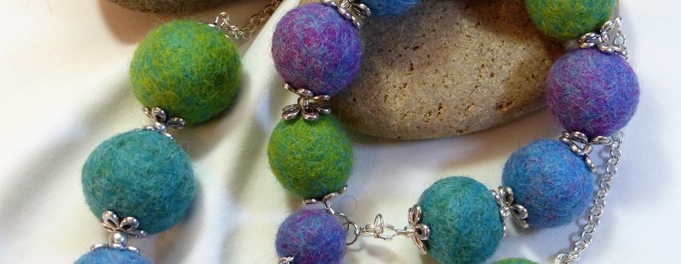 Goatfell felt beads