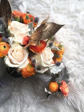 Bridal Bouquet & Boutonniere