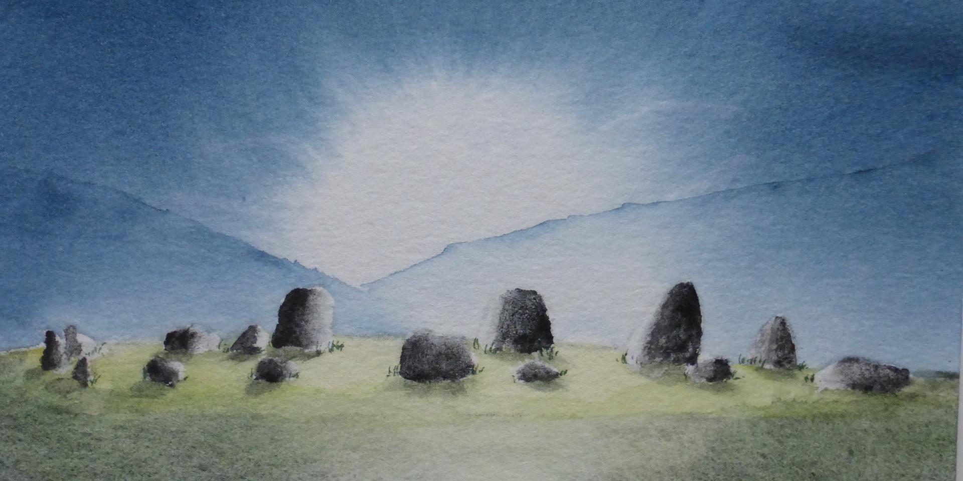 Machrie Stone Circle