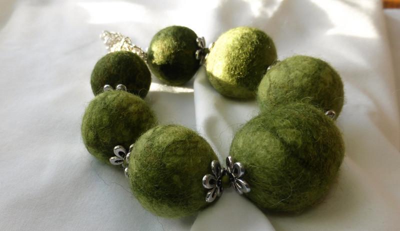 Glenashdale felt beads