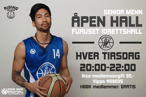 HBBK ÅPEN HALL Senior Menn