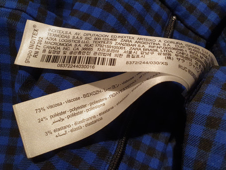 Etiquetas textiles: qué información deben incluir  a partir de la nueva normativa