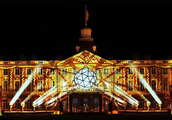 Palace of Karlsruhe - 300 Fragments