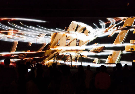 Genius Loci Videomapping Competition - 1st Prize