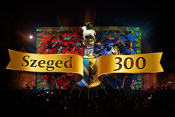 Szeged 300 Projection Mapping
