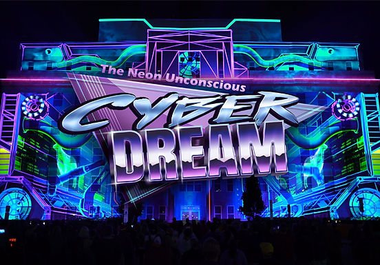 Cyber Dream - The Neon Unconscious for LUMA Festival