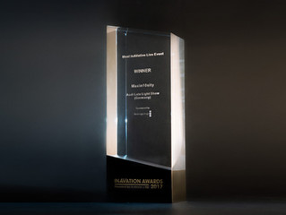 Magnificent moment for Maxin10isty – Winner of Most InAVative Live Event of the Year at InAVation Aw