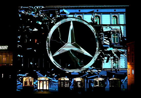 Septembeam Videomapping contest - Mercedes-Benz Special Prize
