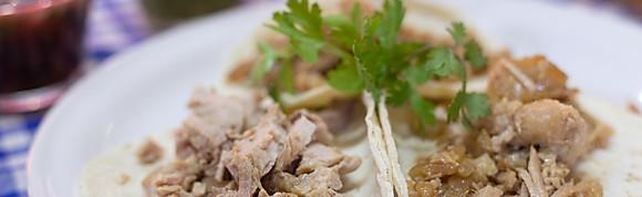 Tacos de Carnitas Surtidas