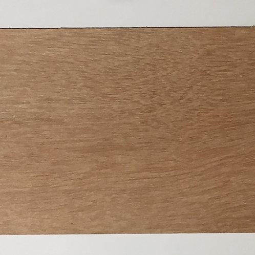 Houten plankje 10x15 cm donker