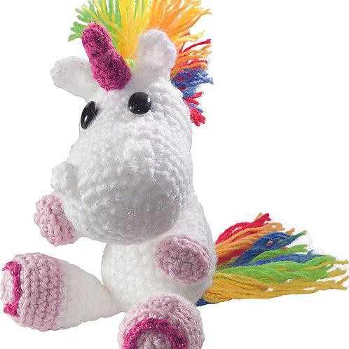 Haakset unicorn 12x14 cm