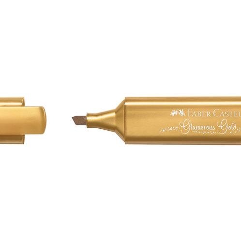 Tekstmarker goud Faber Castell