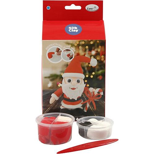 Kerstman Silk Clay
