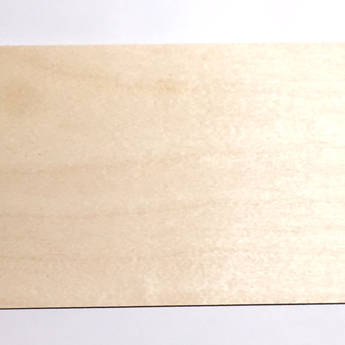 Houten plankje 7x5 cm licht