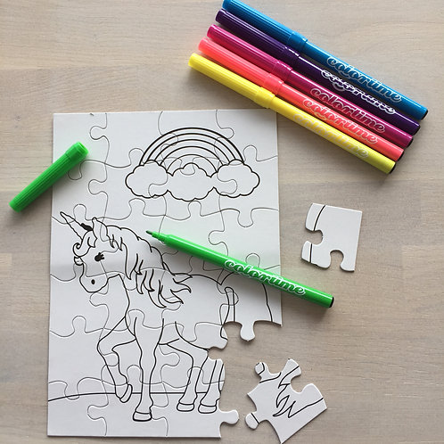 Puzzel Unicorn