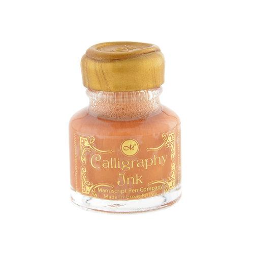 Kalligrafie inkt goud
