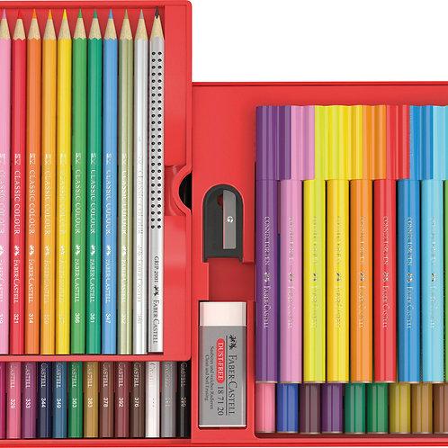 Cadeauset Stiften en kleurpotloden Faber Castell