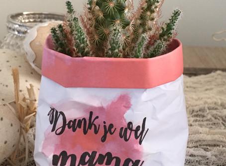 Kleine cadeautje zelf maken voor moederdag