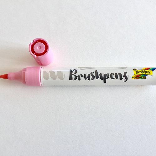 Brushstift roze Folia