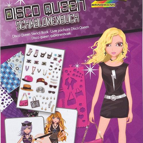Tekenboek disco queen
