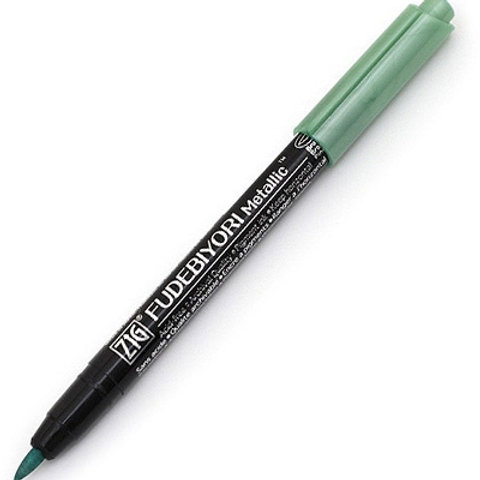 Brushstift Fudebiyori metallic groen