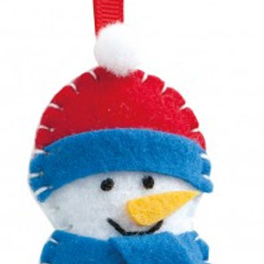 Vilt naaien Sneeuwman