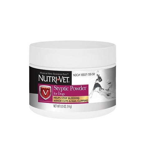 אבקה לעצירת דימום לכלב  Nutri-Vet Styptic Powder